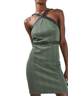 Topshop Hardware Strap Body-Con Dress