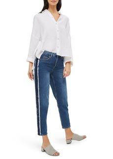 Topshop Hayden Side Panel Boyfriend Jeans