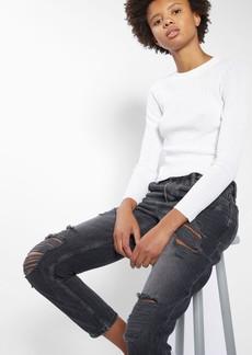 Topshop Hayden Super Rip Boyfriend Jeans