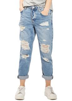 Topshop Hayden Super Ripped Boyfriend Jeans
