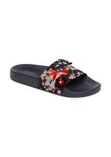 Topshop HERRING Goldfish Embellished Slide Sandal (Women)