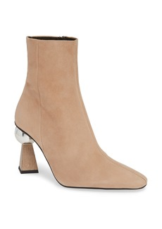Topshop Hexagon Statement Heel Bootie (Women)