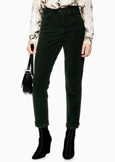 Topshop High Waist Corduroy Pants