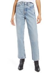 Topshop High Waist Dad Jeans (Bleach)