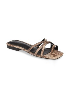 Topshop Hippie Square Slide Sandal (Women)