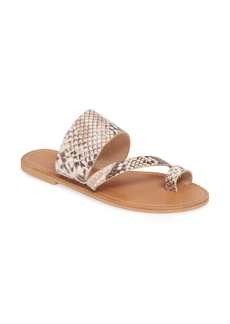 Topshop Honey Slide Sandal (Women)