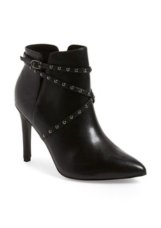 Topshop 'Humour' Studded Pointy Toe Bootie (Women)
