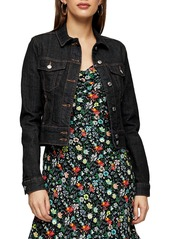 Topshop IDOL Western Stitch Denim Jacket