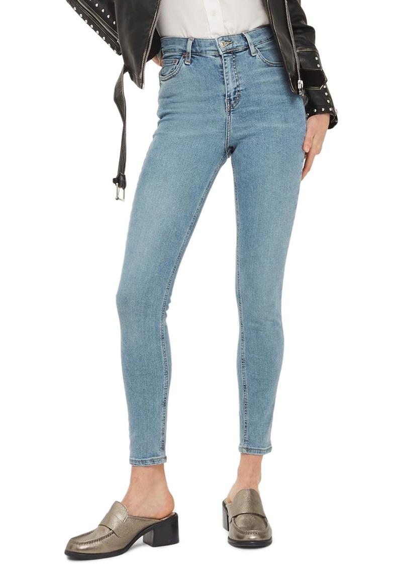 db52bd5d69a9 Topshop Topshop Jamie High Rise Ankle Skinny Jeans (Bleach Blue)