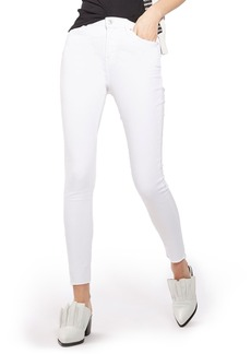 Topshop Jamie Raw Hem Skinny Jeans