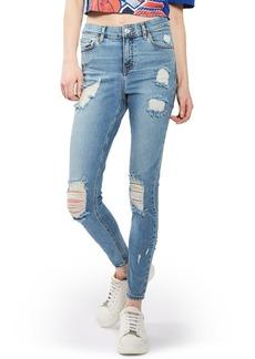 Topshop Jamie Super Ripped Skinny Jeans
