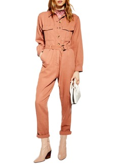 Topshop Java Boilersuit