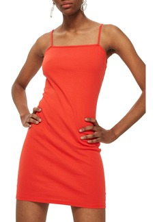 Topshop Jersey Body-Con Minidress