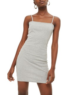Topshop Jersey Body-Con Minidress