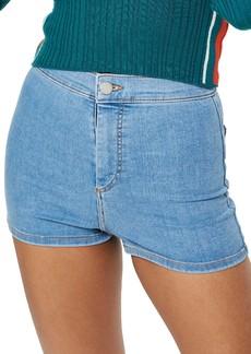 Topshop Joni Light Denim High Waist Shorts