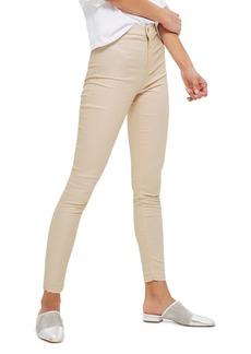 Topshop Joni Shimmer Skinny Jeans