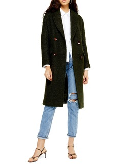 Topshop Kim Bouclé Coat