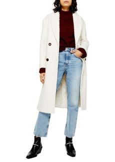 Topshop Kim Bouclé Coat (Regular & Petite)