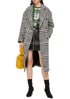Topshop Kim Check Coat