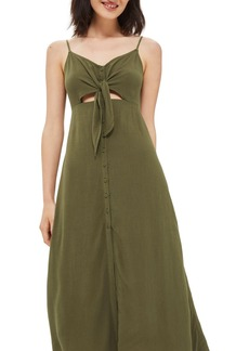 Topshop Knot Front Slipdress