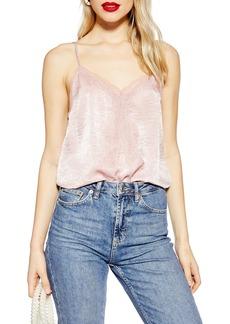 Topshop Lace Trim Camisole