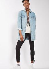 Topshop Lace-Up Leggings
