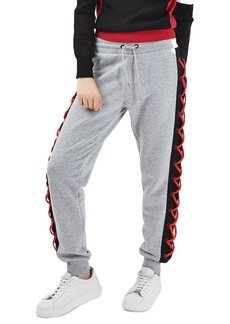 Topshop Laced Side Jogger Sweatpants