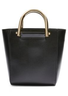 Topshop Lacey Metal Top Handle Shoulder Bag