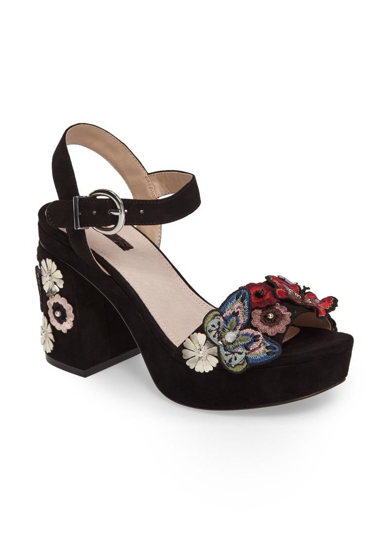 3310f8158c4a Topshop Topshop Laney Embellished Platform Sandal (Women)