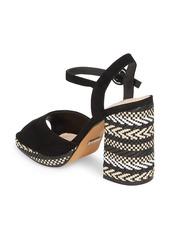 Topshop Women's Laura Woven Block Heel Sandal ZoM69UioXl