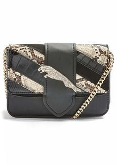 Topshop Leaping Leopard Crossbody Bag