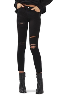 Topshop Leigh Super Rip Skinny Jeans