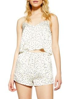 Topshop Leopard Spot Short Pajamas