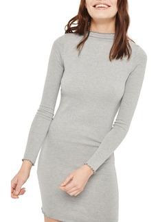 Topshop Lettuce Edge Body-Con Dress