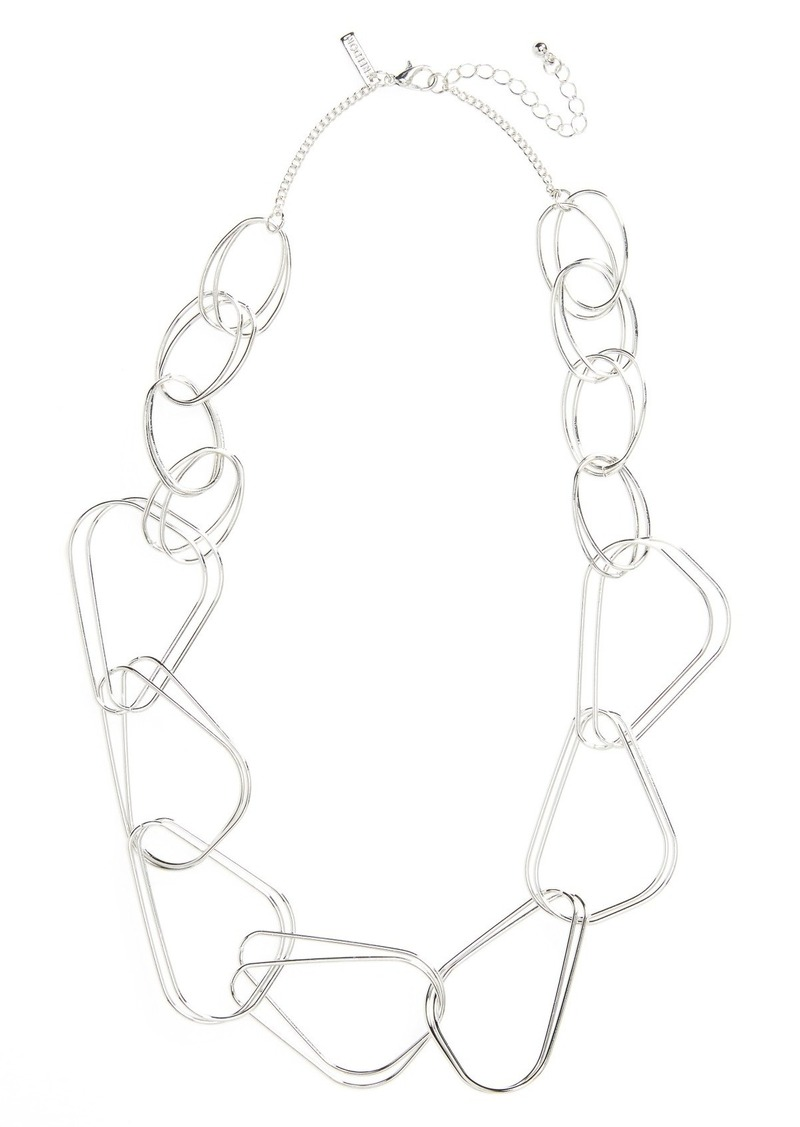 Topshop Link Chain Necklace
