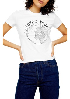 Topshop Love Your World Tee