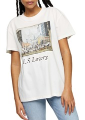 Topshop Lowry Cotton Graphic Tee