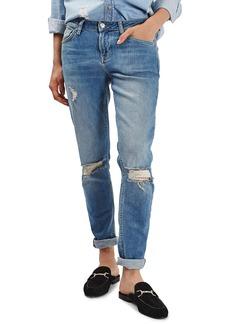 Topshop Lucas Ripped Boyfriend Jeans