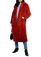 Topshop topshop luxe faux fur coat abvbad990c2 a