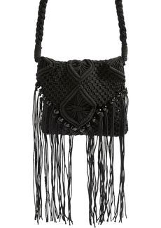Topshop Macrame Crossbody Bag