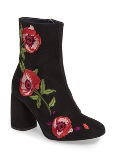 Topshop Madam Embroidered Bootie (Women)