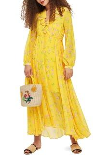 Topshop Margot Floral Maxi Dress