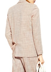 Topshop Marl Double Breasted Blazer