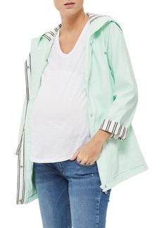 Topshop Maternity Rain Jacket