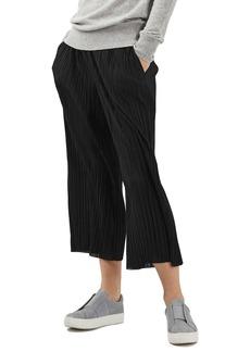 Topshop Matte Plissé Trousers (Regular & Petite)