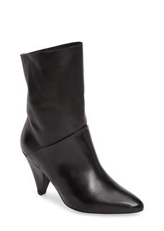 Topshop Mickey Cone Heel Bootie (Women)