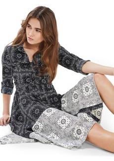 Topshop Mix Bandana Midi Dress