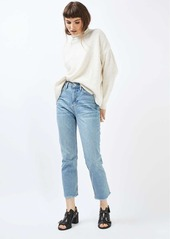 Topshop Mixed Knit Sweater