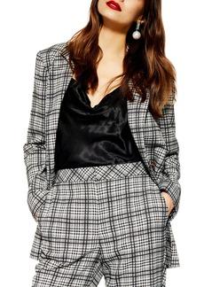 Topshop Molly Check Jacket