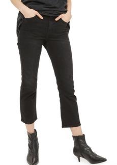 Topshop Moto Dree Kick Flare Jeans
